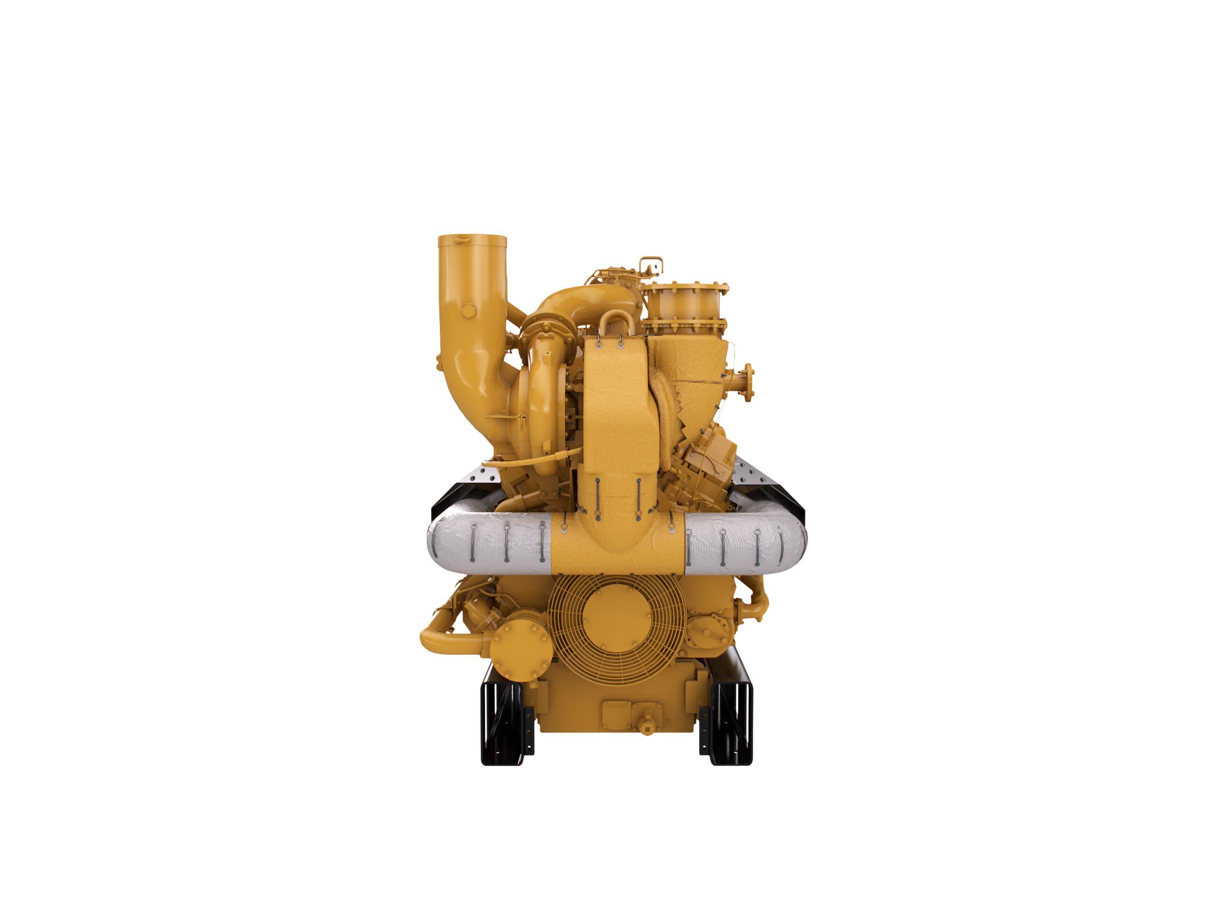 Cat  Natural Gas Engine D Model
