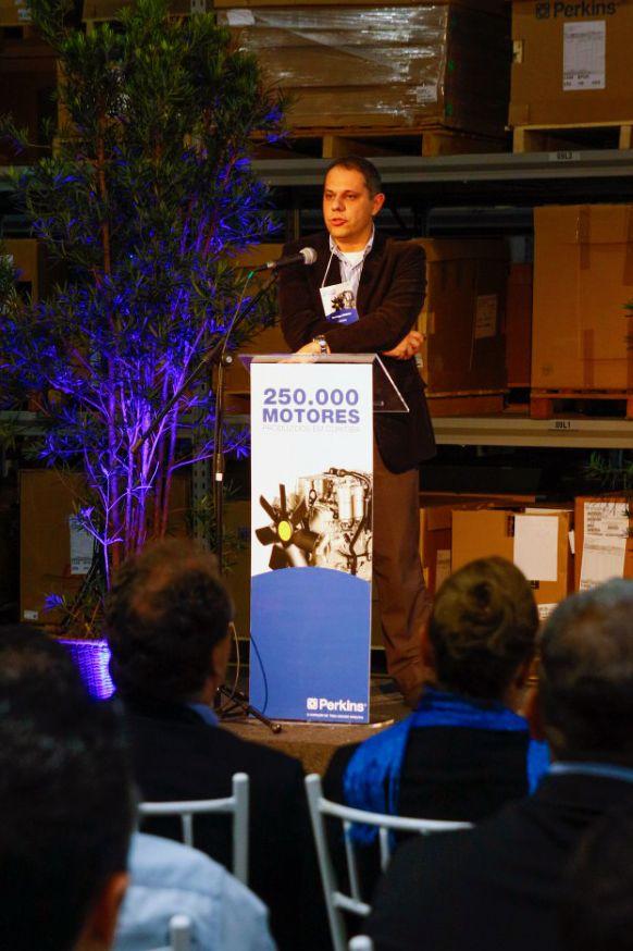 Curitiba Facility Manager Rodrigo Chibior