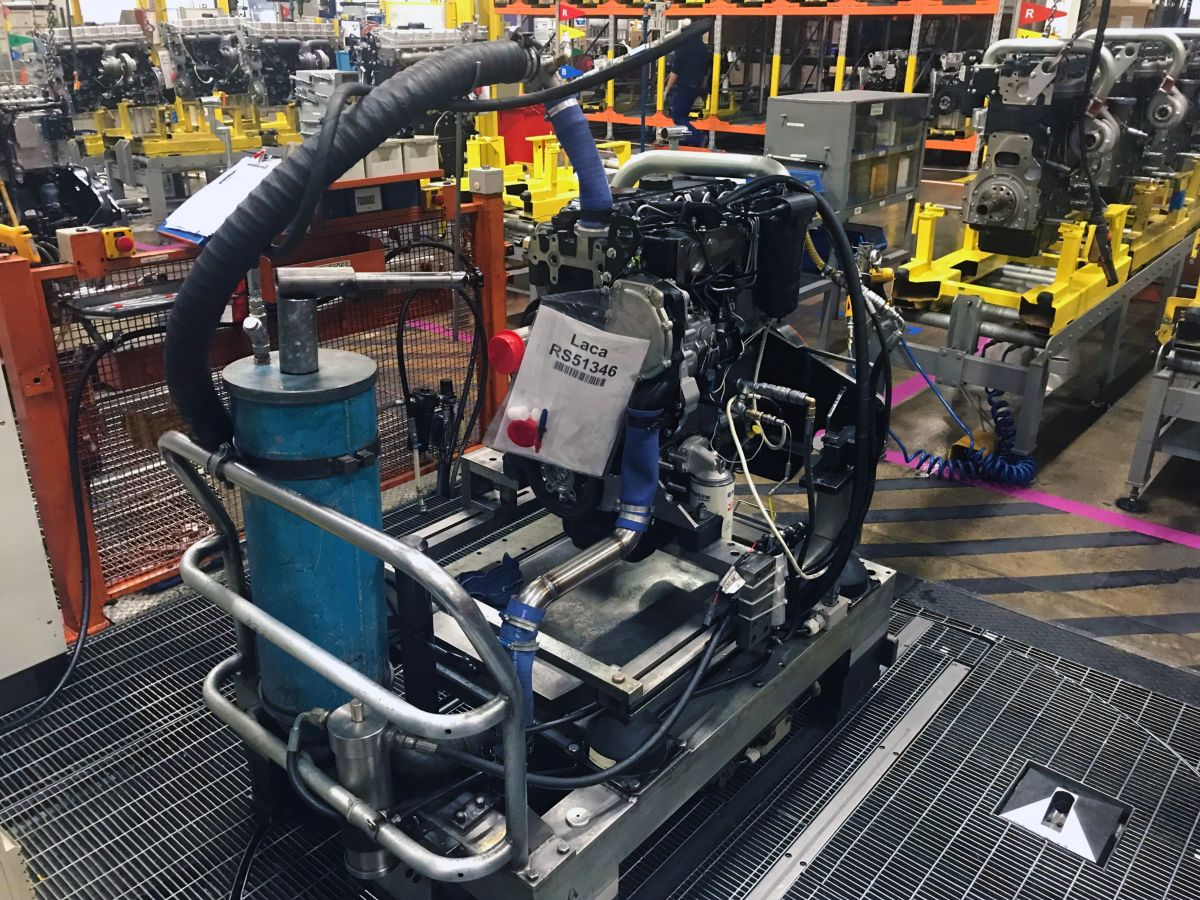 The 250,000th engine