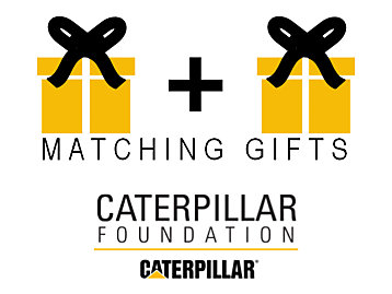 Matching Gifts - Caterpillar Foundation