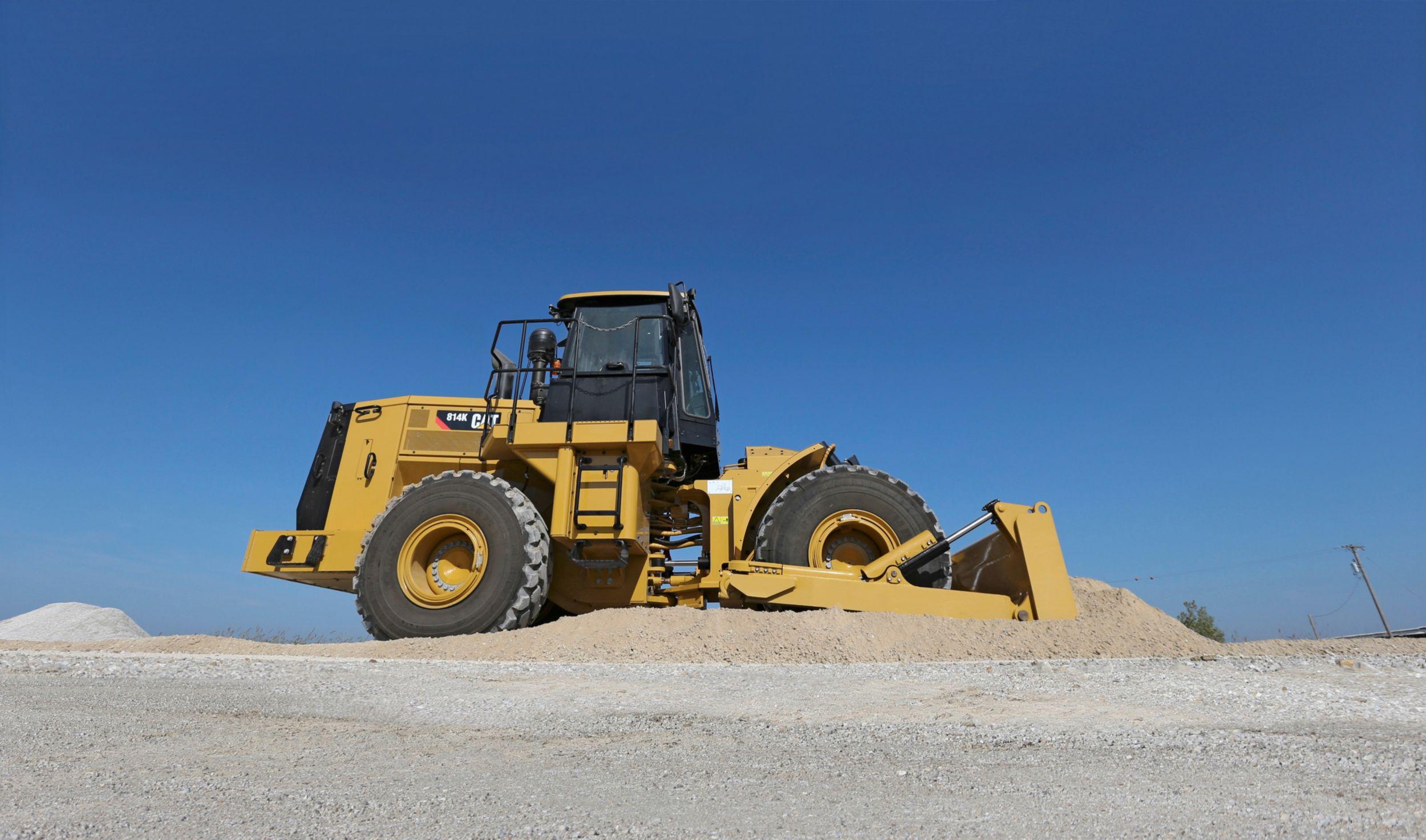 814K wheel-dozers