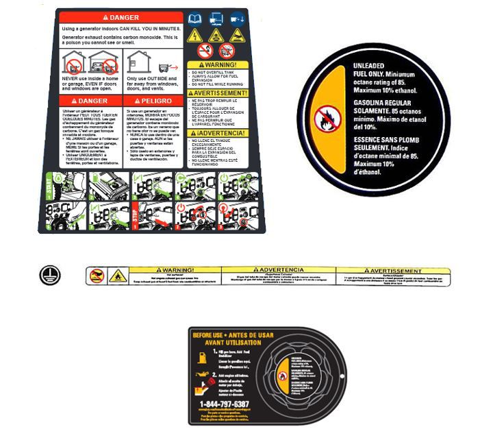 Image for Safety Label Group from Omni CA Store