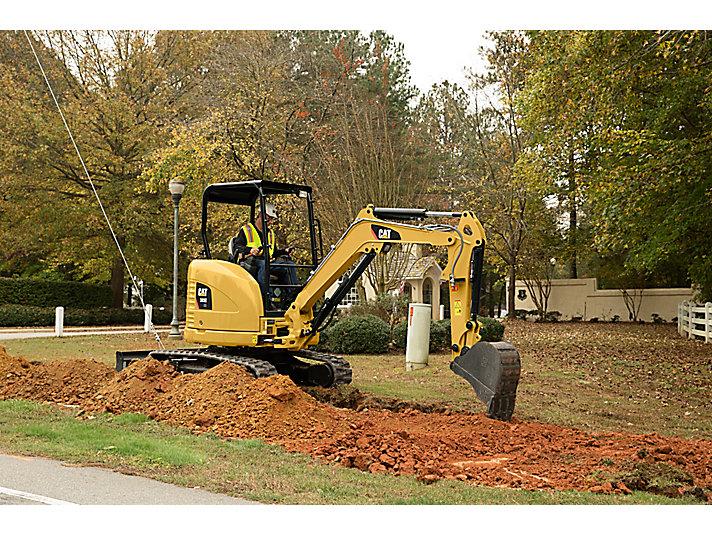 Cat | 303E CR Mini Hydraulic Excavator | Caterpillar
