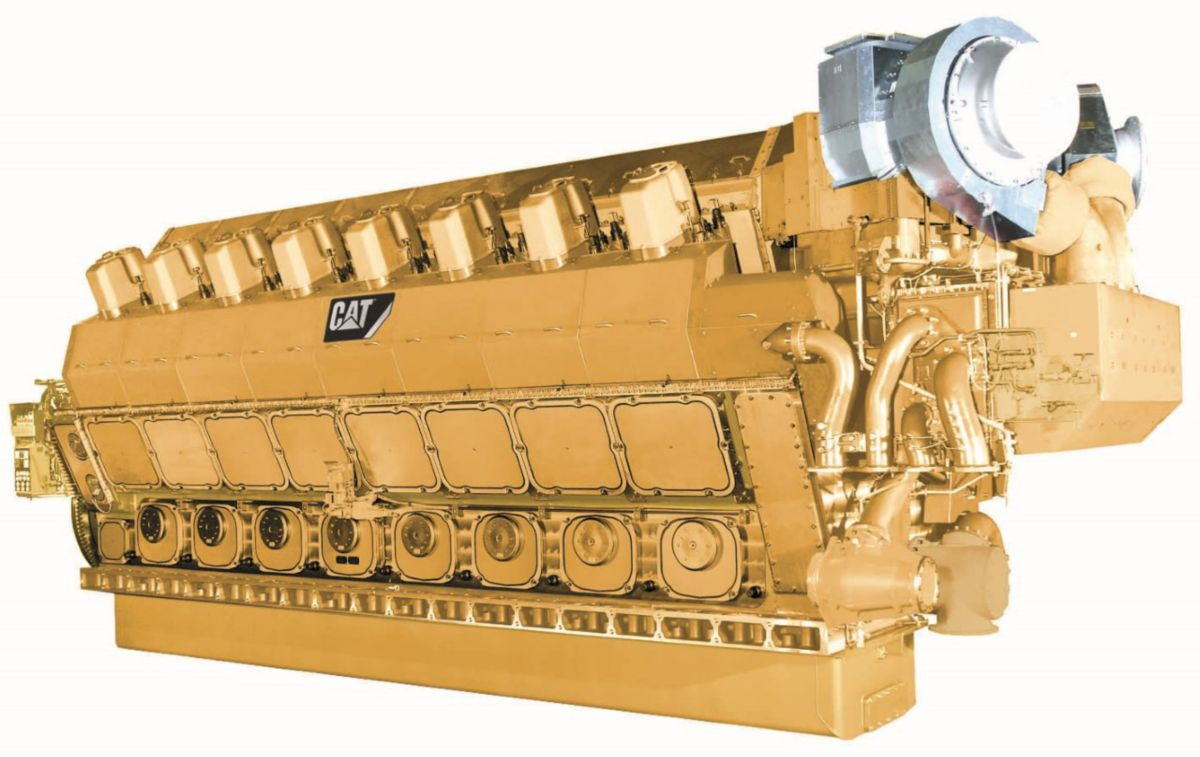 CM43C V-Type Electronic Power Generator Sets