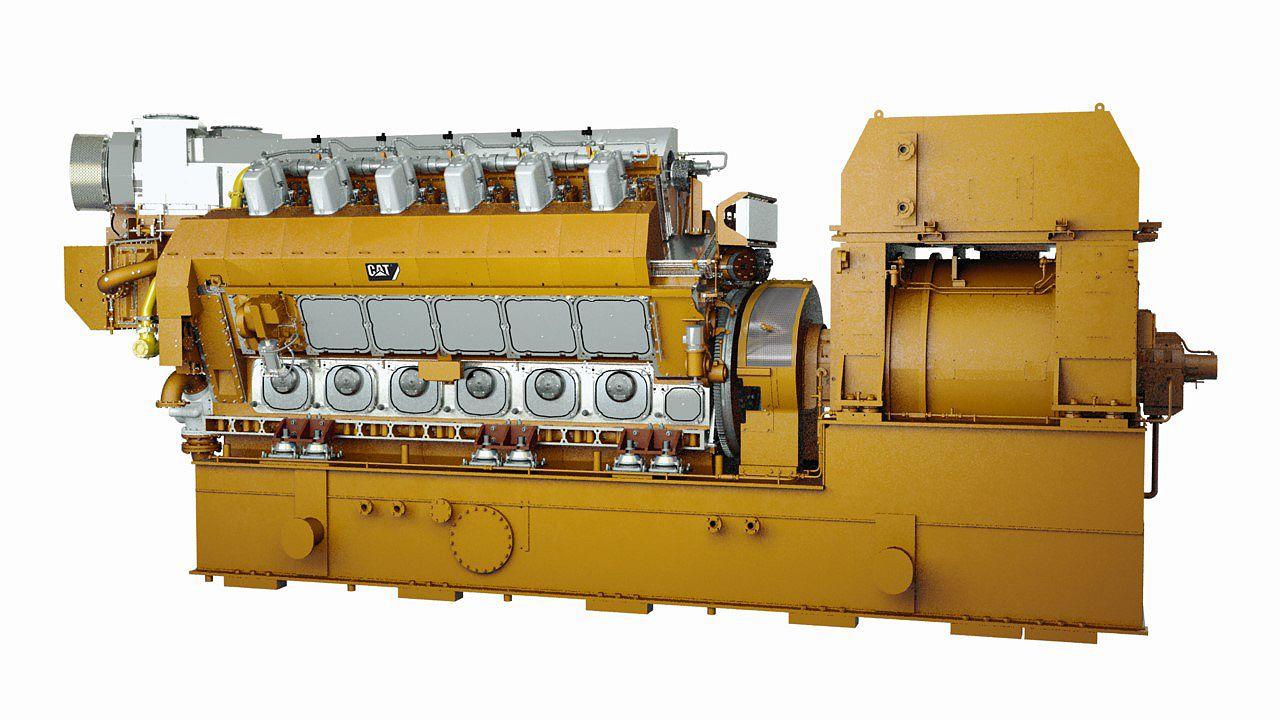 CM46DF V-Type Electronic Power Generator Sets