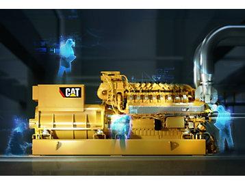 Caterpillar Launches 1 MW CG132B-16 Natural Gas     - Cat