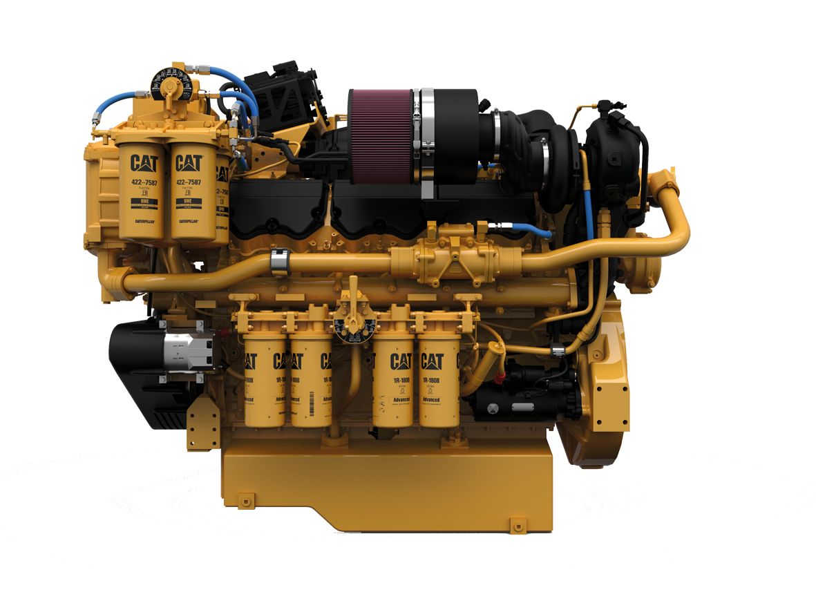 Cat C32 Marine Propulsion (US EPA Tier 4 / IMO III)