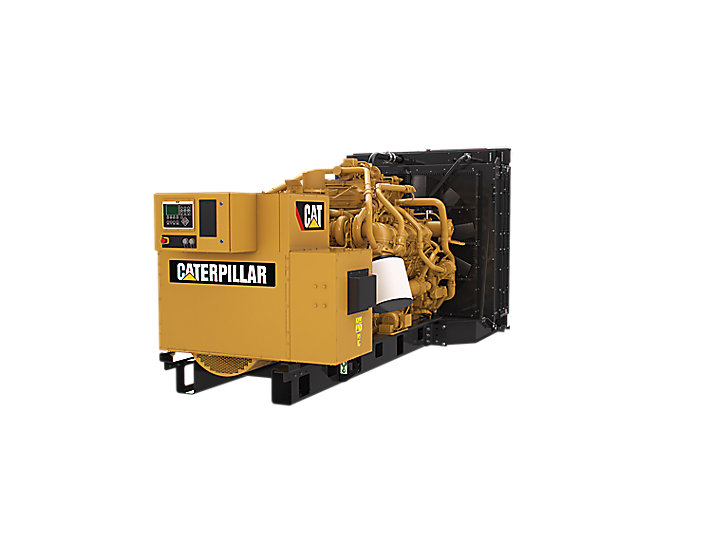 G3512 | 525kW-750kW Natural Gas Generator | Caterpillar - Cat