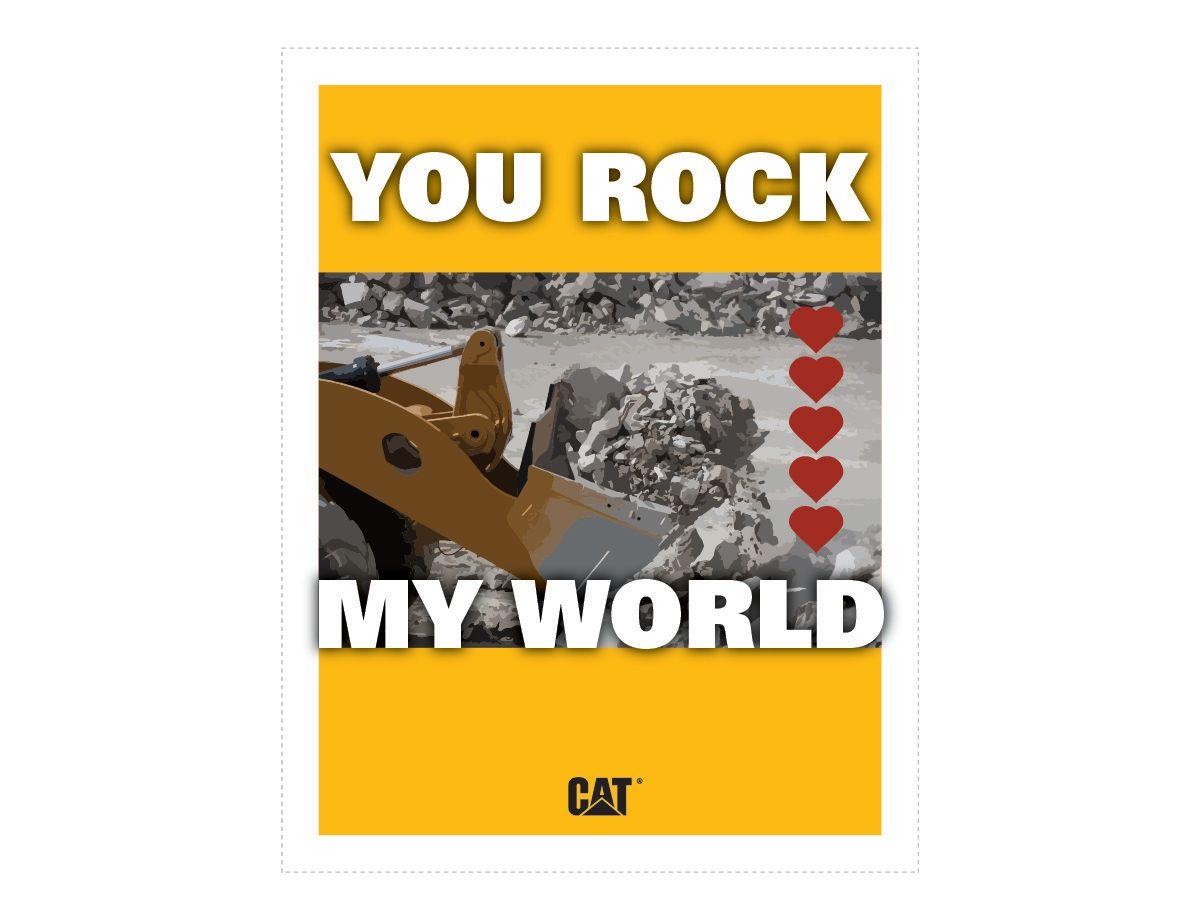 Cat   CatⓇ Printable Valentines   Caterpillar