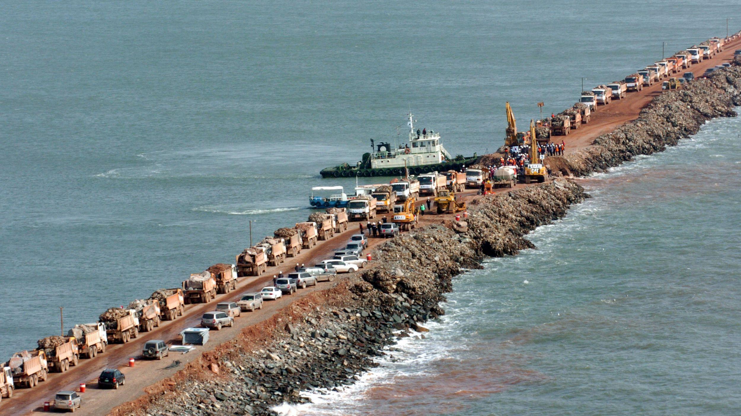 Saemangeum seawall