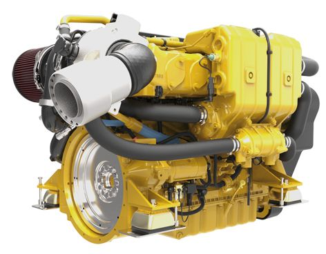C7.1 Marine Propulsion Engine (U.S. EPA Tier 3 / IMO II)