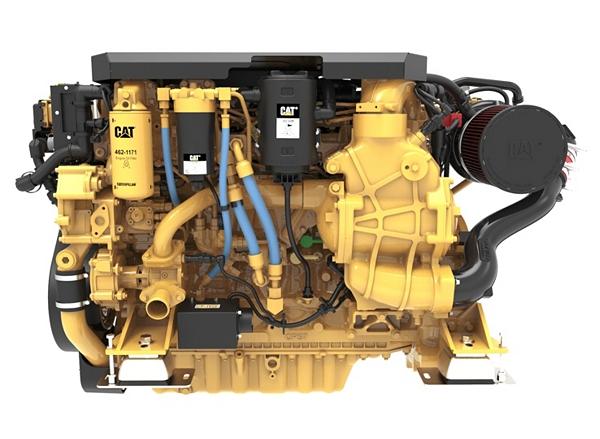 C7.1 Marine Auxiliary Engine (U.S. EPA Tier 3 / IMO II)