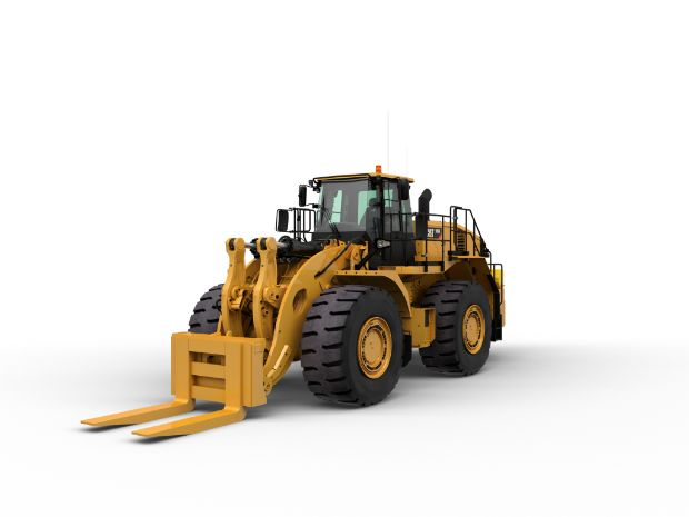 986K Large Wheel Loader - Block Handler