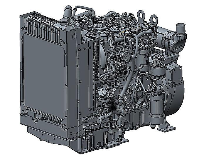 854F-E34TG Electric Power Diesel Engine