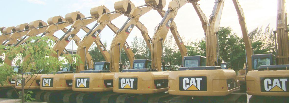 Сертифицированная Техника Caterpillar с наработкой в лизинг