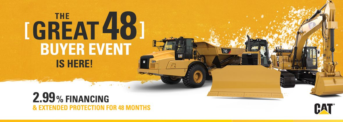 The Great 48 Buyer Event is Here! 2.99% Financing & Extended Protection for 48 Months