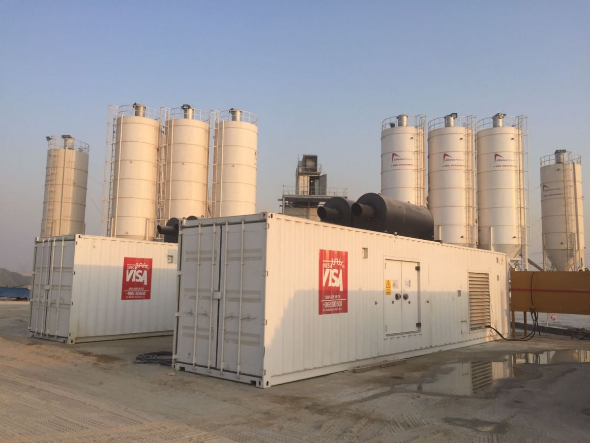 Going to the extreme for Kuwaiti cement plant