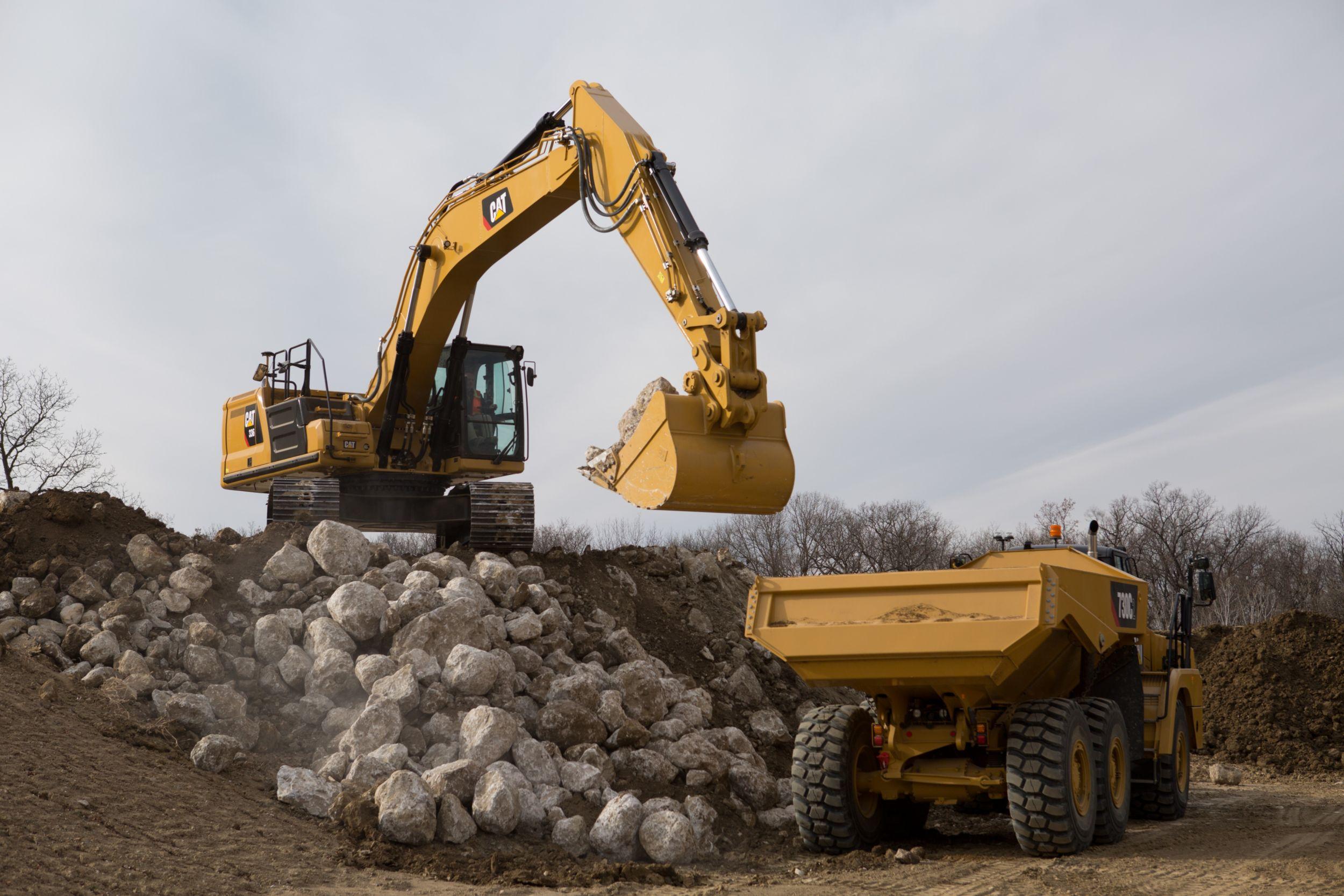 Excavadora Hidráulica 336