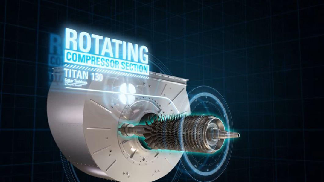 Titan 130 with C41 Compressor