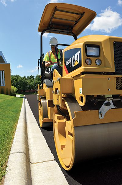 Cat Utility Compactor