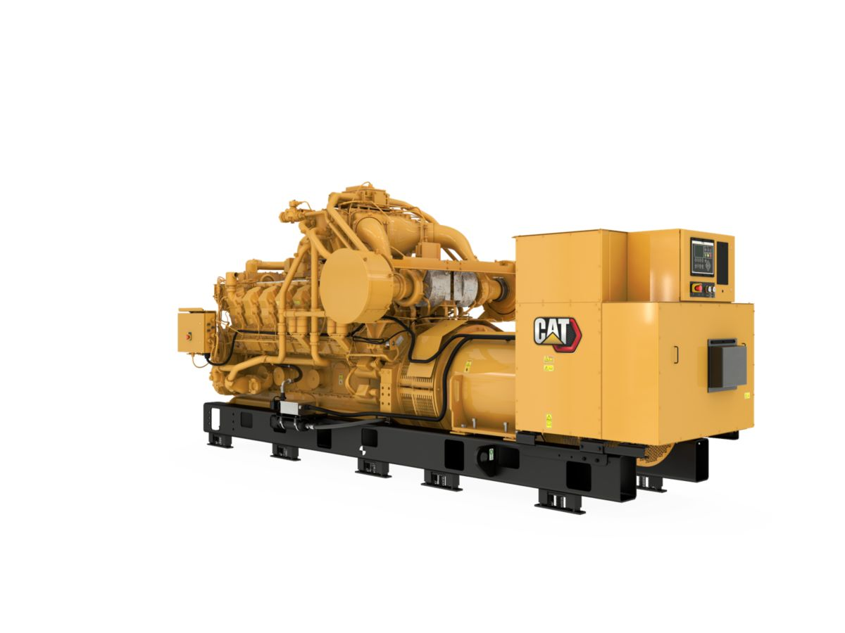 G3516B  Gas Generator Sets Rear Left>