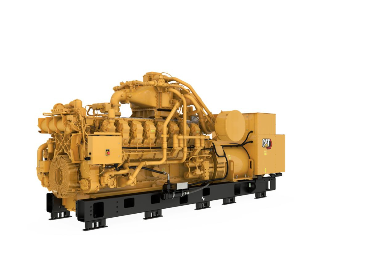 G3516B  Gas Generator Sets Front Left>