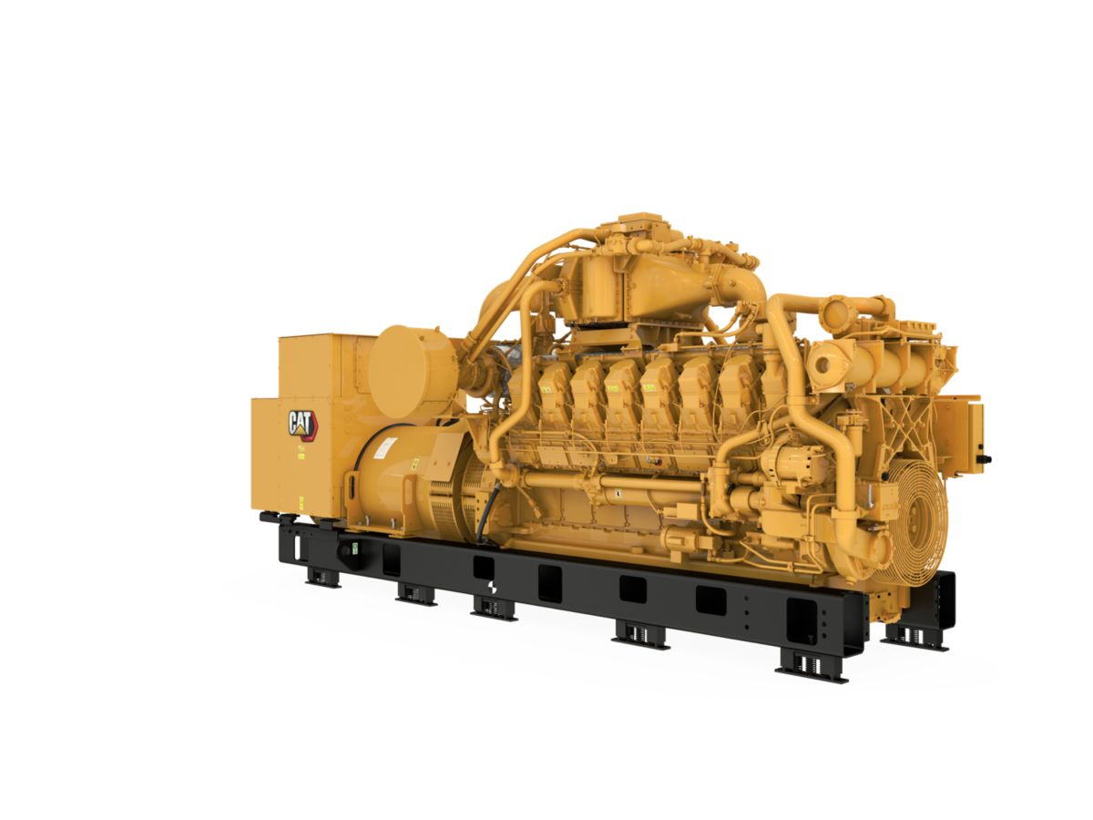 G3516B  Gas Generator Sets Front Right>