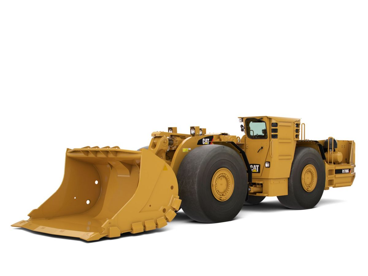 product-R1700G Underground Mining Load-Haul-Dump (LHD) Loader