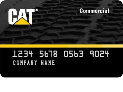 Rendering of Cat Card Program Commercial Revolving Account Card