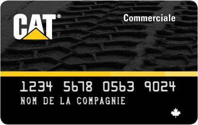 Carte commerciale de Cat (Compte-carte renouvelable)