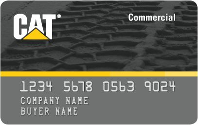 Image of Cat Commercial Card (Invoice Card)