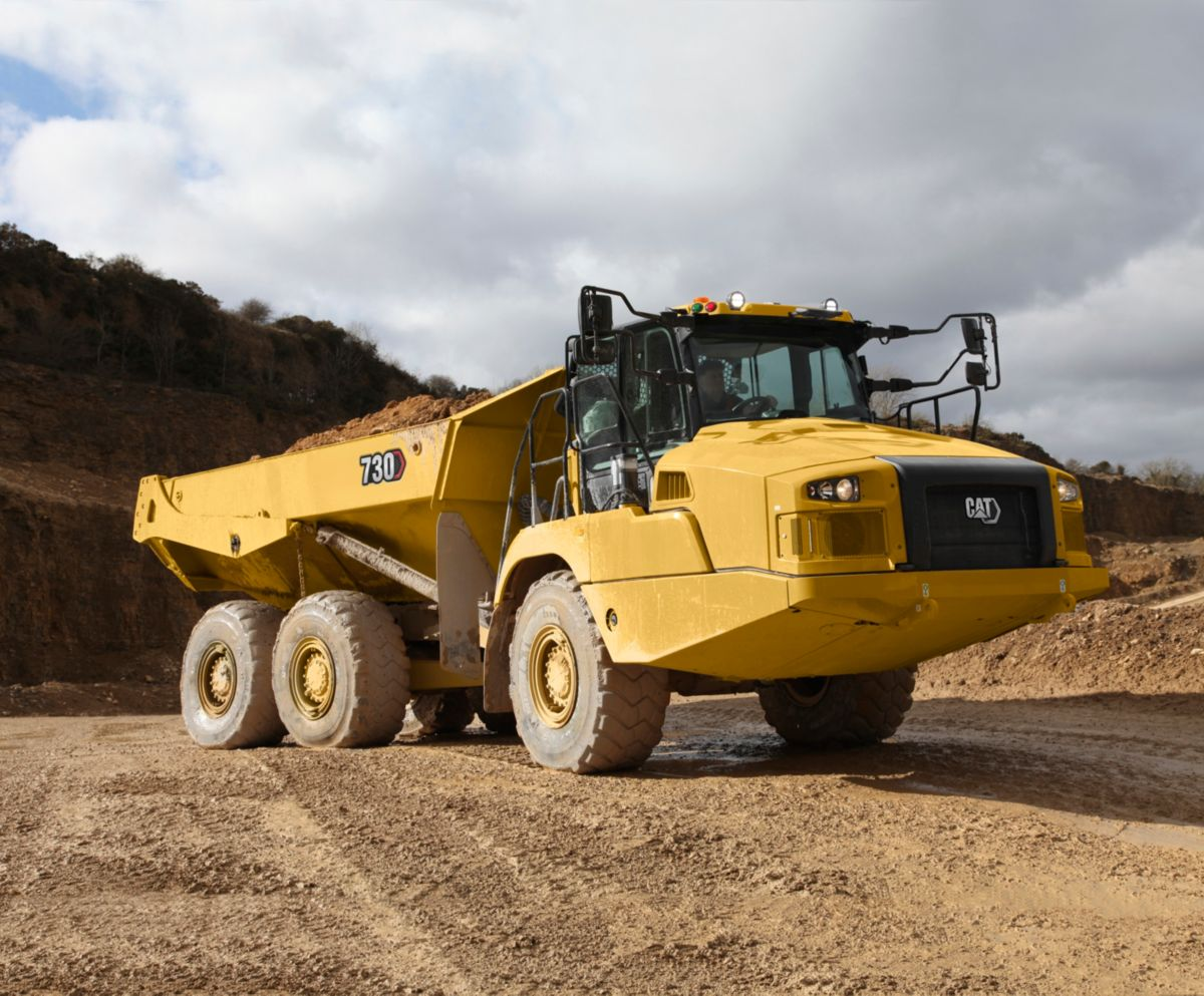 730 Articulated Haul Truck Cat Caterpillar