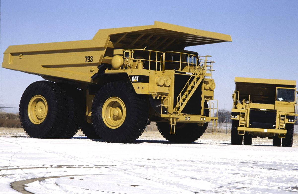 Cat® 793 Off-Highway Mining Haul Truck (circa 1991) ...