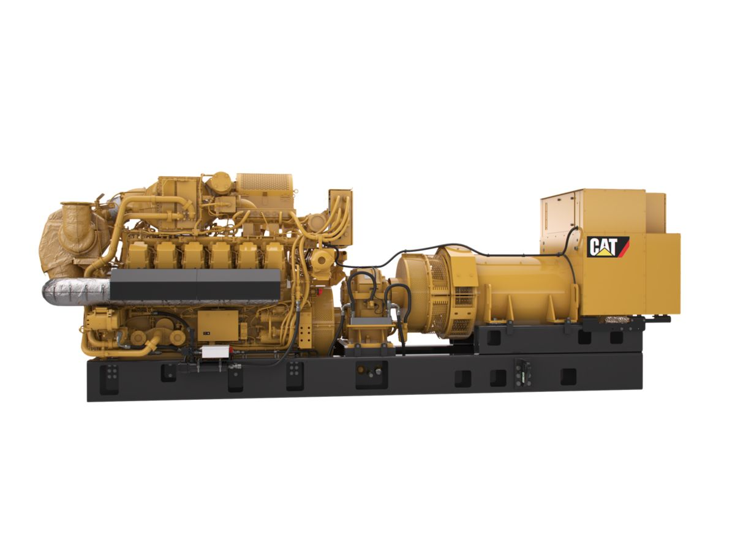 Grupos Electrógenos de Gas G3512H de 60Hz
