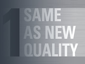 Same-as-new quality, every time