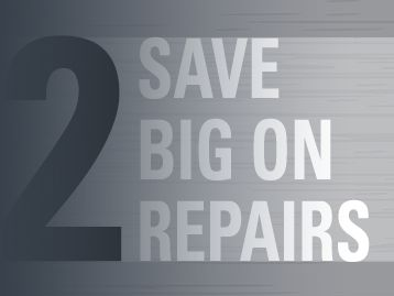 Save six figures or more on repairs