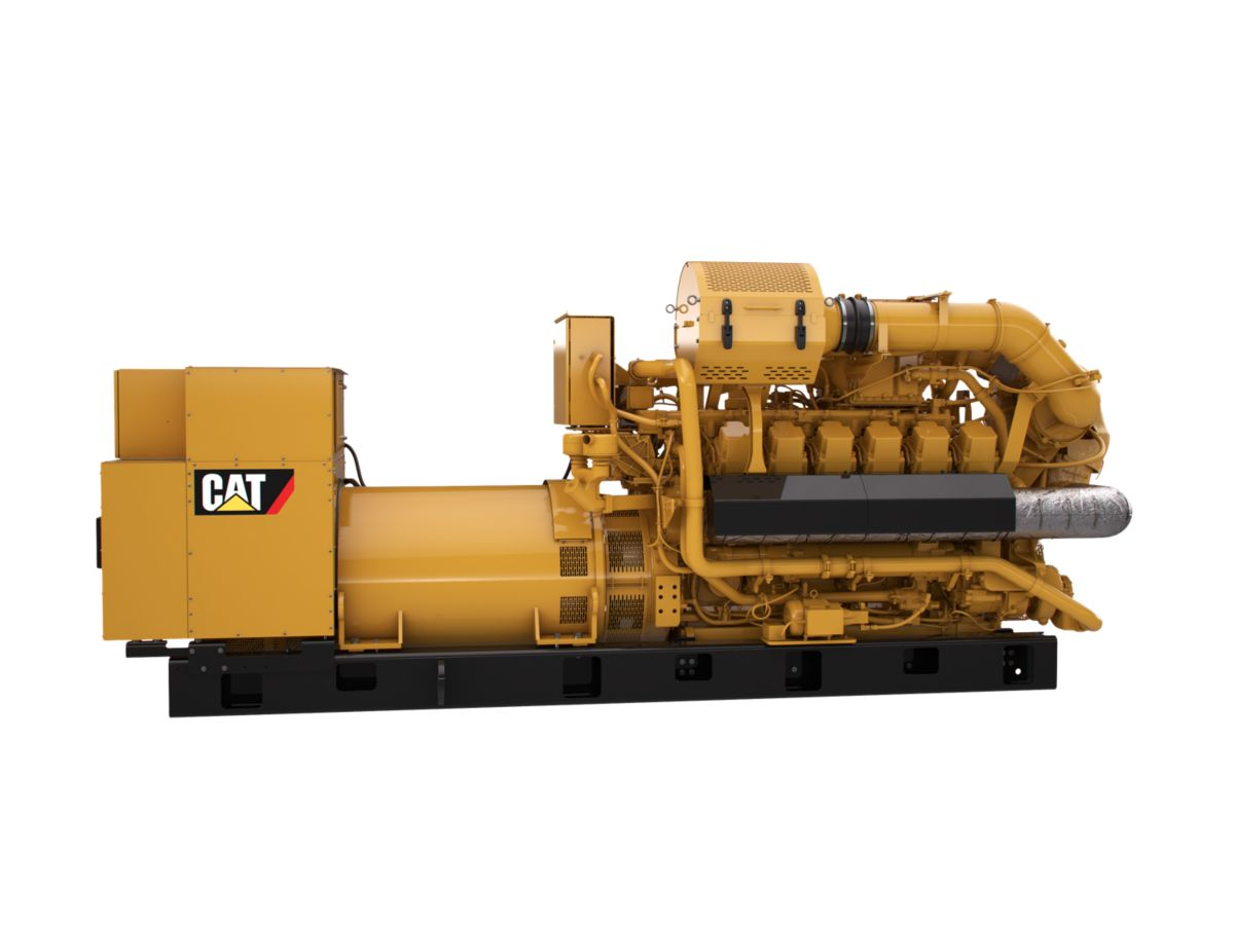 Grupos Electrógenos de Gas G3512H de 50Hz