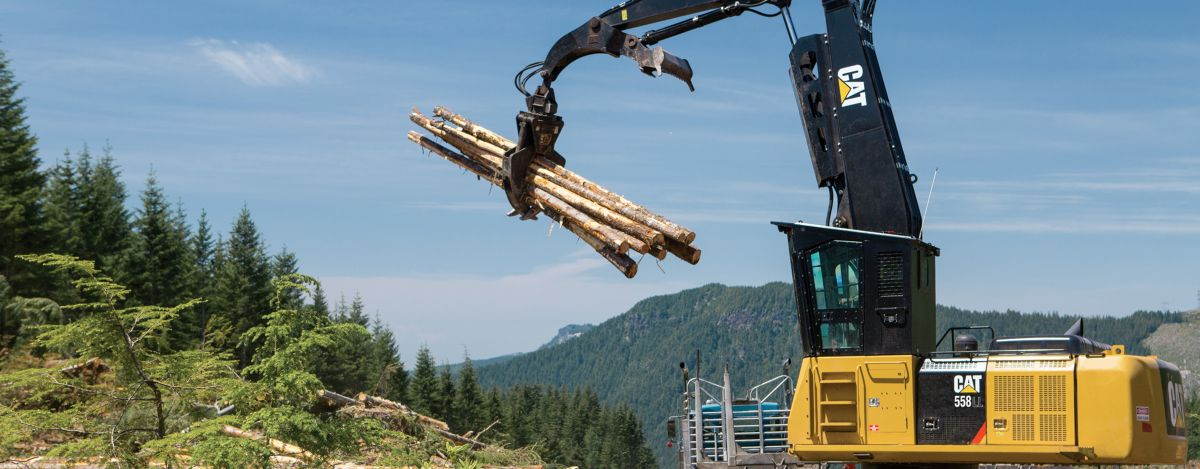 Cat Logging Equipment Forestry Equipment Caterpillar