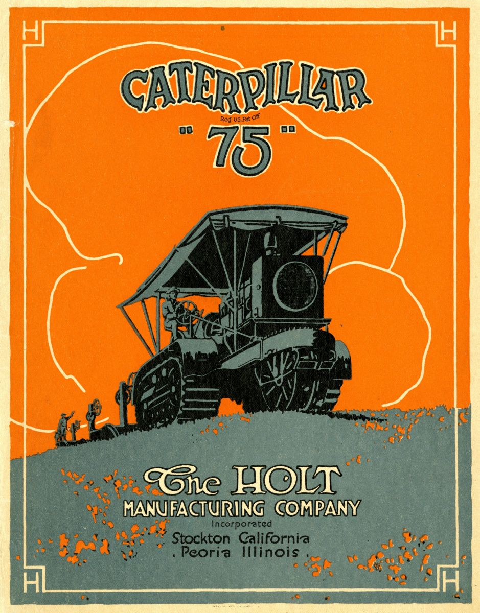 Caterpillar Archive How Made Is A Tractor Wiring Harness The 75 Was Arguably Holts Most Successful Track Type It Used Across Global On All Continents Except Antarctica