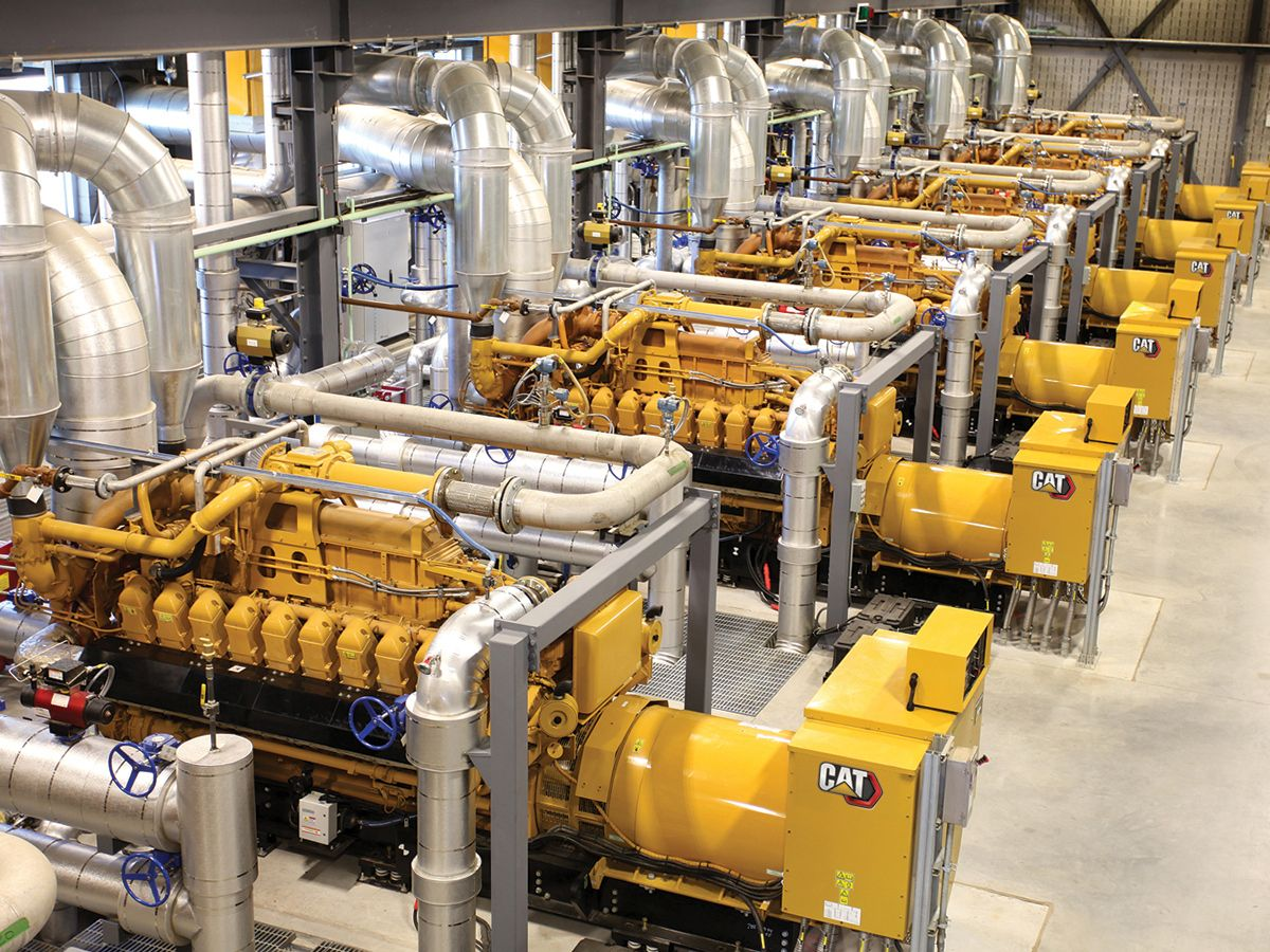 Cat generator sets use biogas to power over 7,000 homes