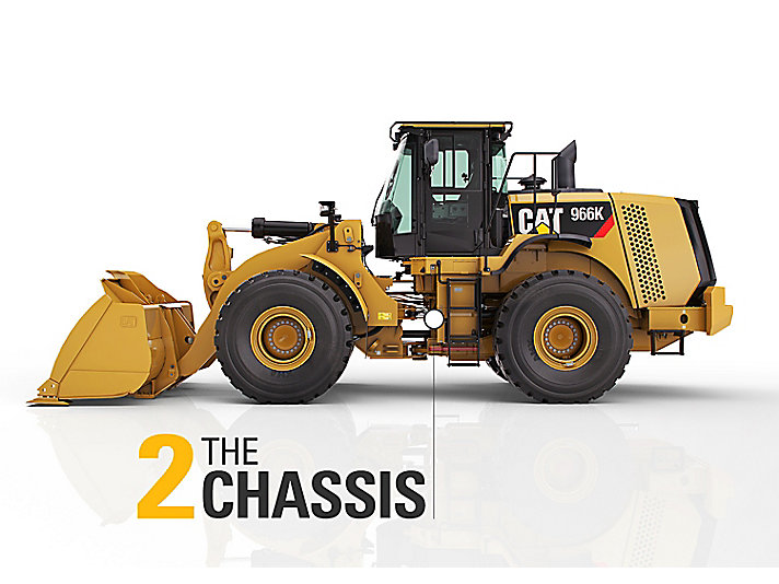 Examine the chassis on used equipment