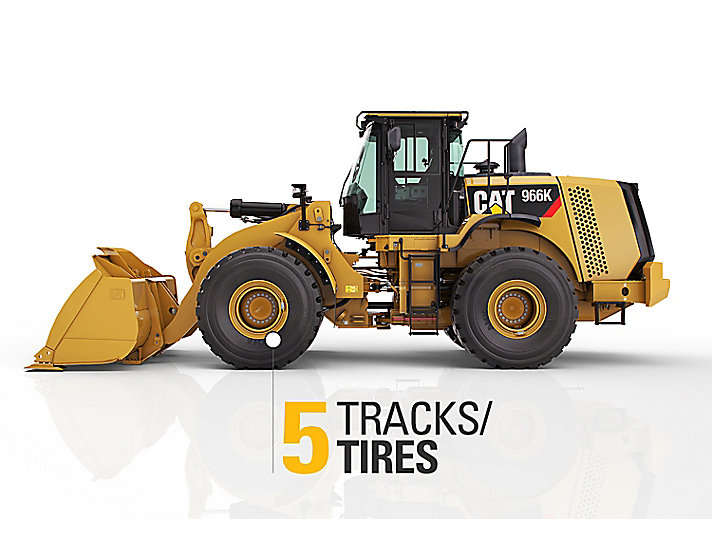 Measure wear and tread on tires for used equipment