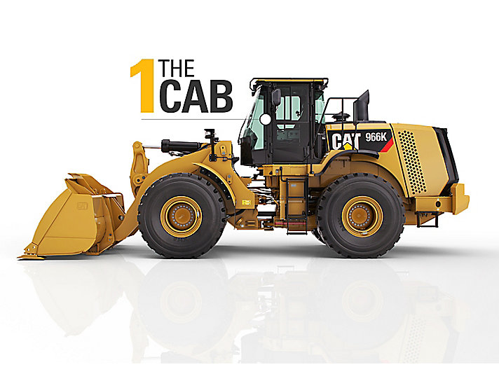 Check the cab on used equipment