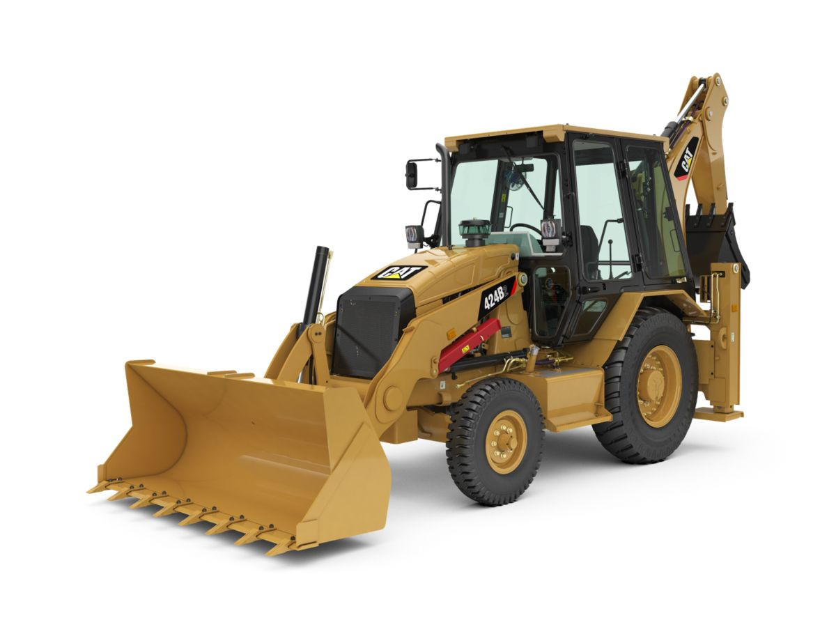 Own a Cat® 424B2 Backhoe Loader! Financing at 7.99% for 36 months + 2 years extended protection.