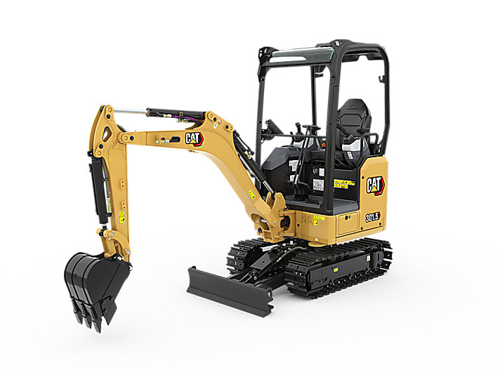 301 5 Mini Excavator | Caterpillar - Cat