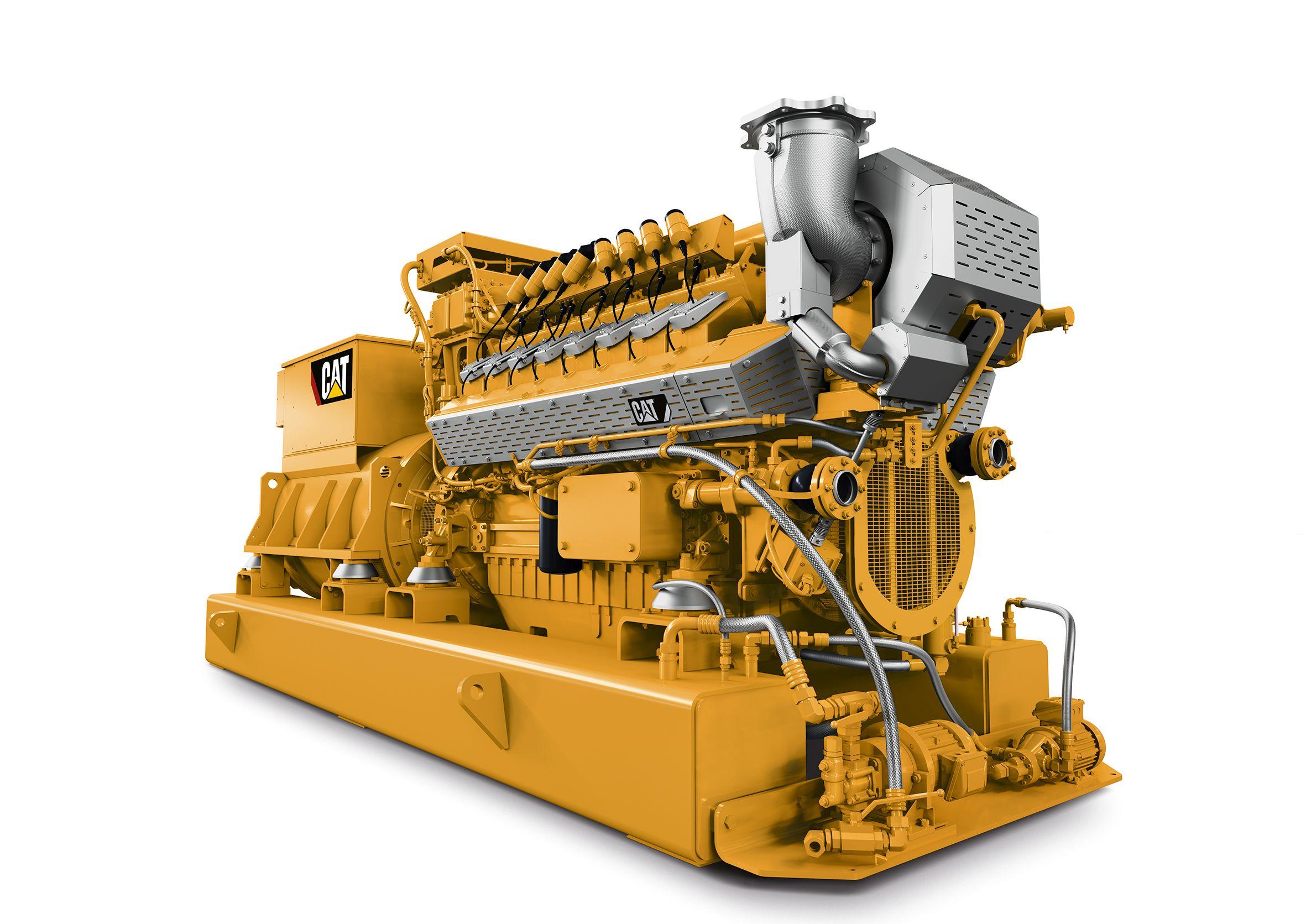 Cat | New Cat® CG132B Natural Gas Generator Set Delivers