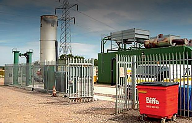 Cat system turns landfill gas into electricity