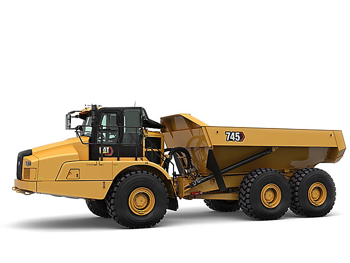 Cat 745 Articulated Haul Truck Caterpillar