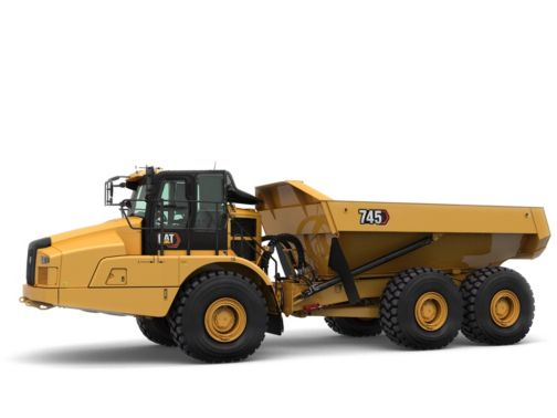 745 - Three Axle Articulated Trucks