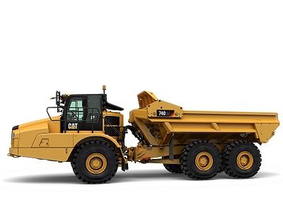 New Caterpillar 740 EJ Articulated Truck - Cleveland